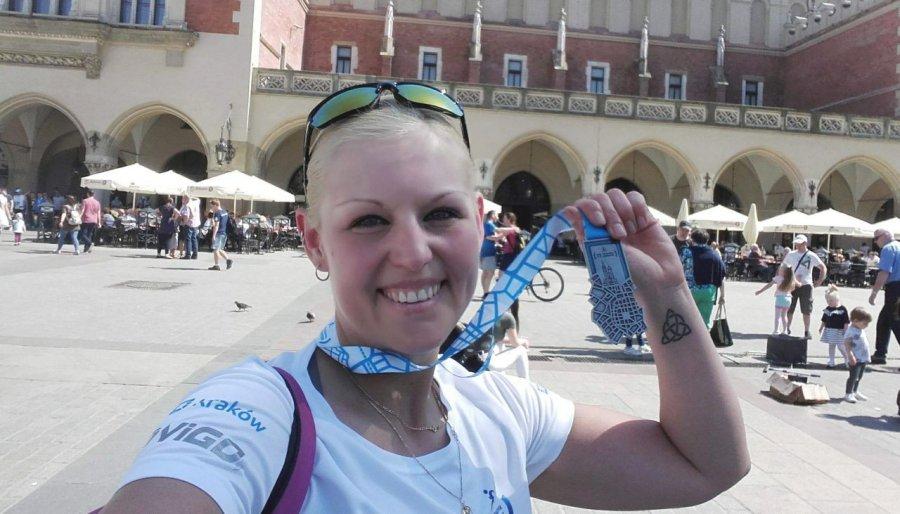 Kibice dopingowali w Krakowie maratończyków z ziemi chrzanowskiej