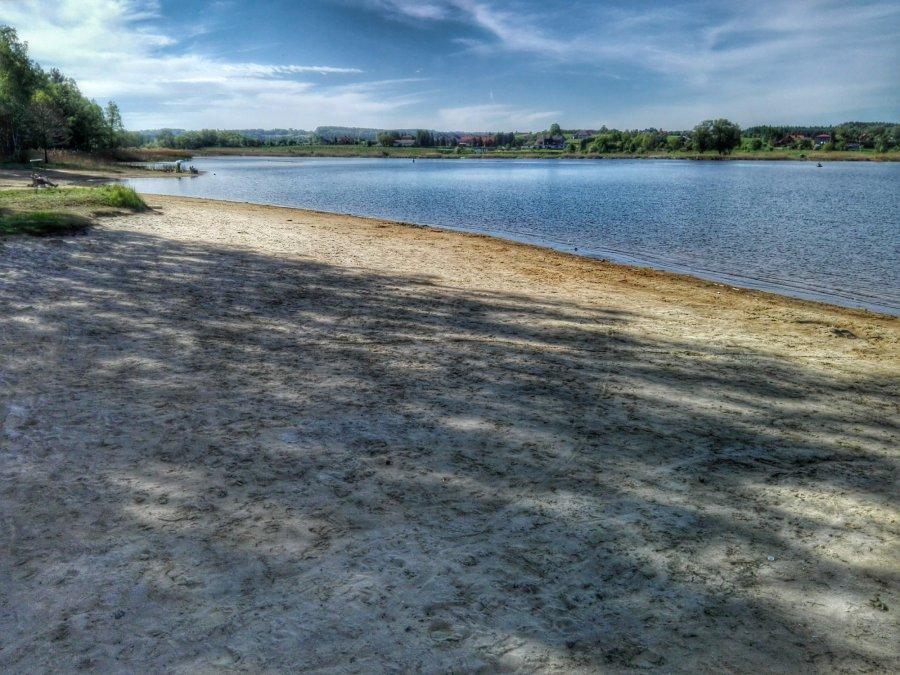 Chechło się skurczyło, ale przy brzegu będzie więcej miejsca do odpoczynku