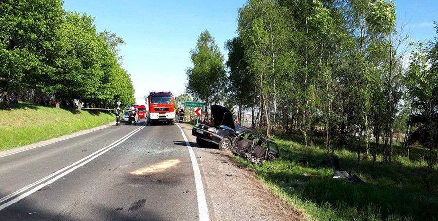 Sprawca wypadku w Woli Filipowskiej był nietrzeźwy