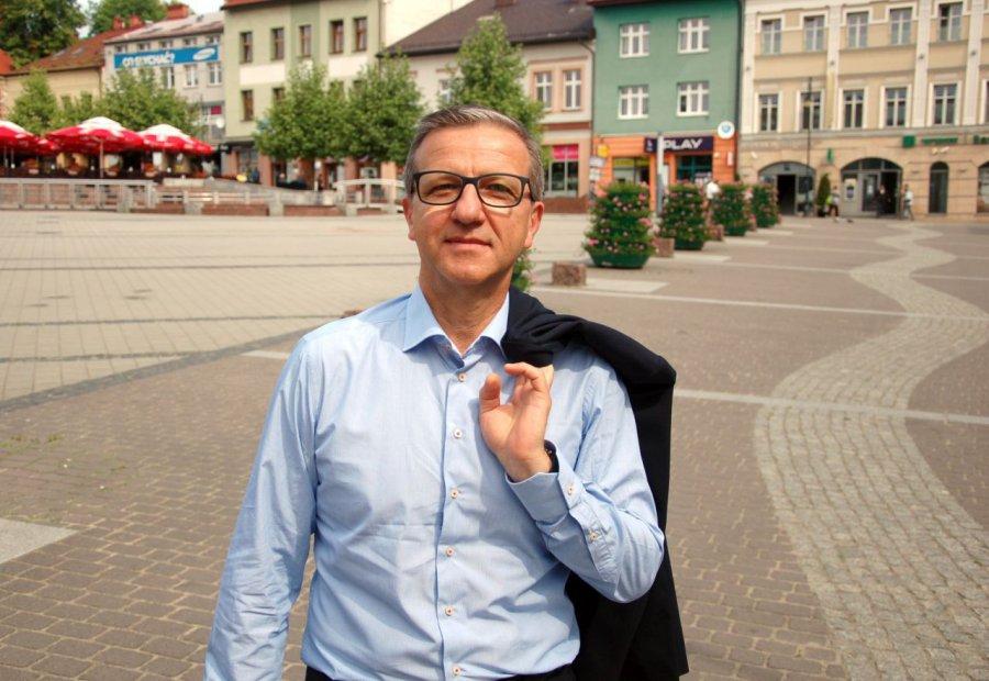 Andrzej Filipczak chce zostać burmistrzem Chrzanowa