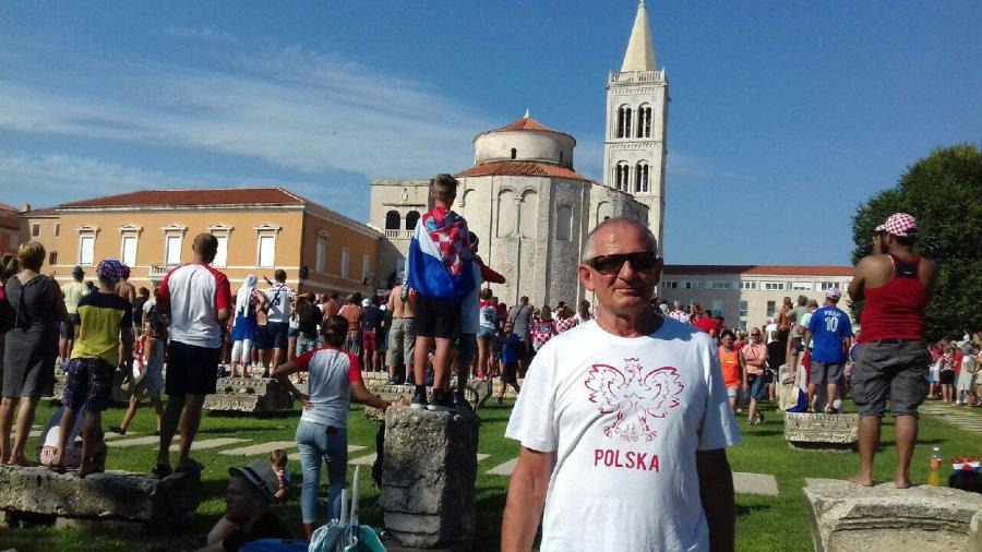 Trzebinianie kibicują Chorwatom w Zadarze