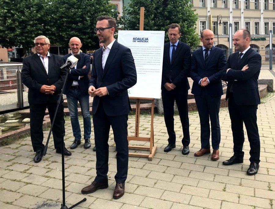 Robert Maciaszek kandydatem na burmistrza Chrzanowa. Ma poparcie czterech partii (WIDEO)