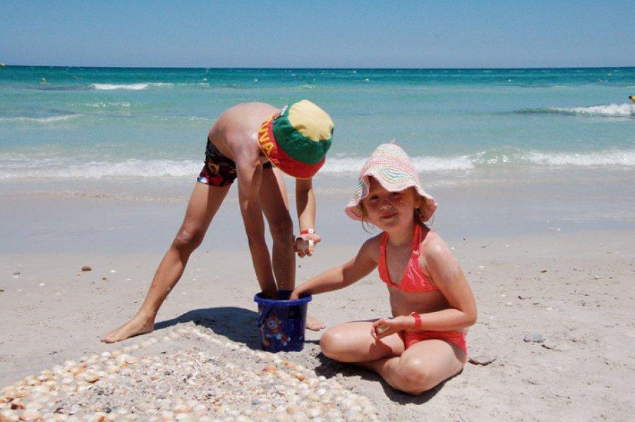 Jak nie zgubić dziecka na plaży