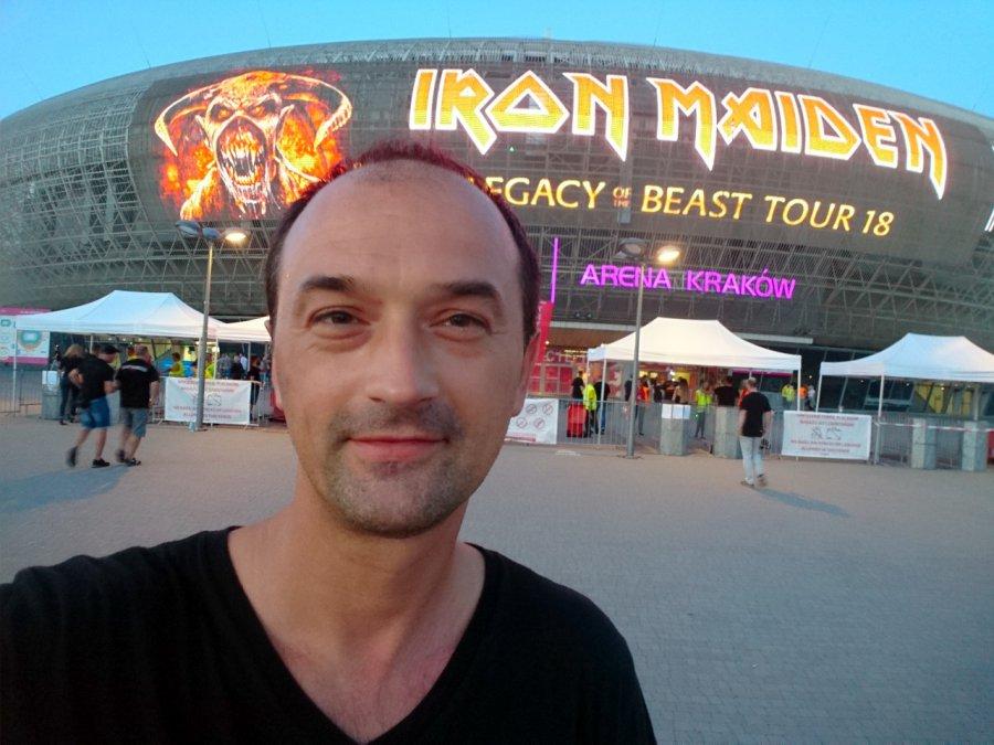 Wójt na koncercie Iron Maiden: to była istna uczta
