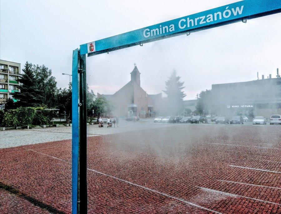 Z deszczu pod mgiełkę wodną