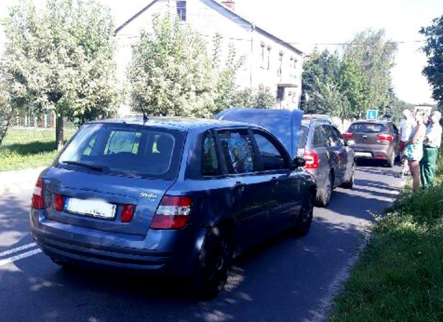 Wypadek na ul. Grunwaldzkiej. Są ranni
