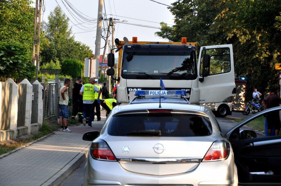 Śmiertelny wypadek w Luszowicach