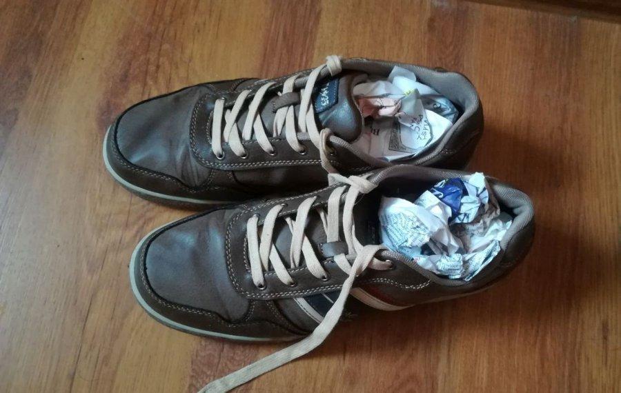 Ta metoda suszenia butów zawsze się sprawdza