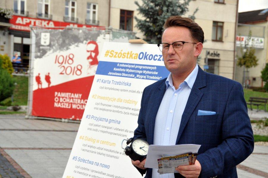 Jarosław Okoczuk z budzikiem odkrył karty na rynku (WIDEO)