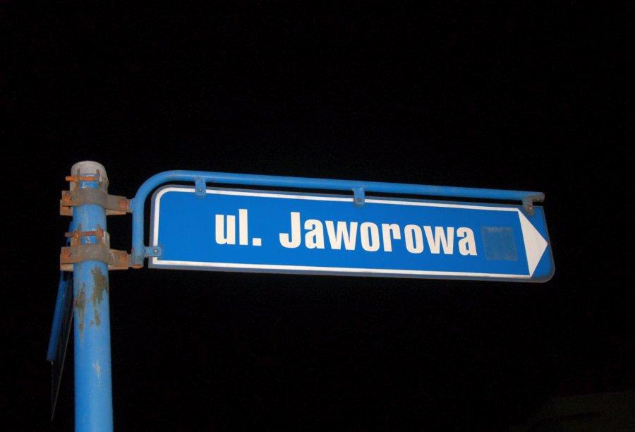 Ulica Jaworowa w remoncie. Jest objazd