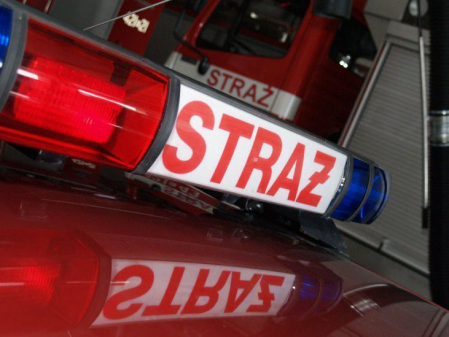 Uratowali 4-letnie dziecko z pożaru