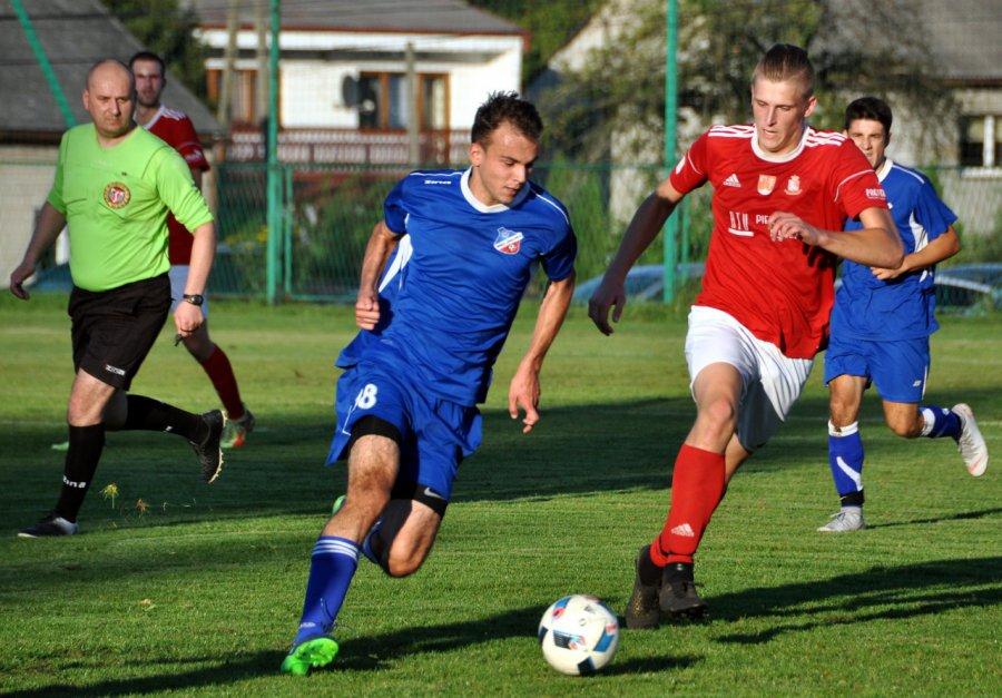Libiąż stracił pierwszego gola, ale pokonał Wolankę