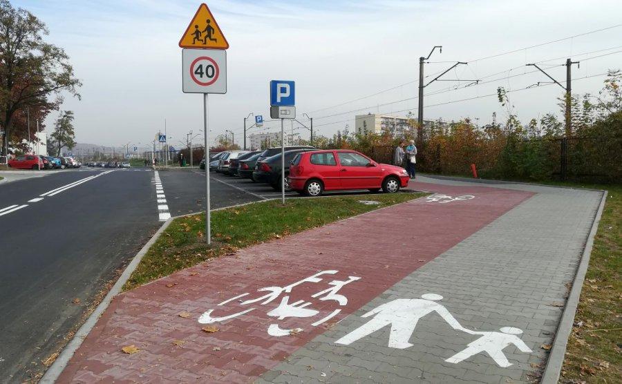 Rowerzyści mogą jeździć po kolejnym chodniku
