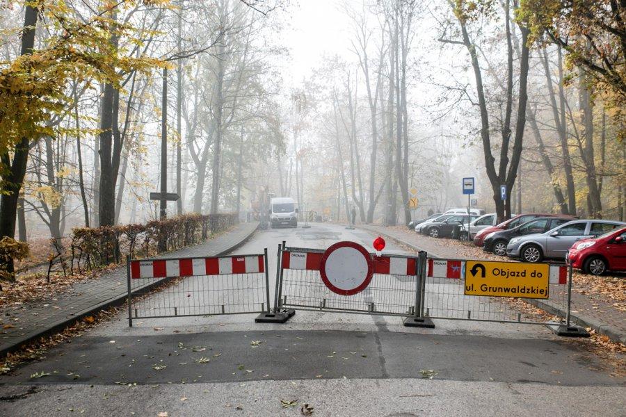 Uwaga! Most jest zamknięty