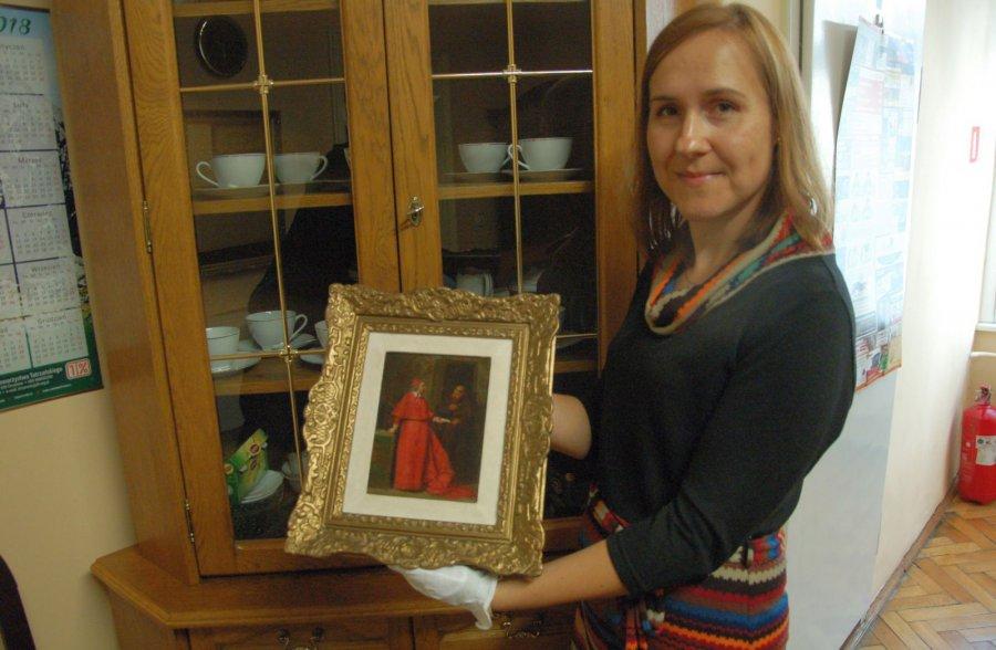 Obraz znanego malarza trafił do jego rodzinnego Chrzanowa