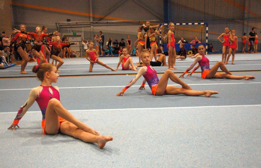 Akrobaci pokazali grację i wyskakali medale (WIDEO)