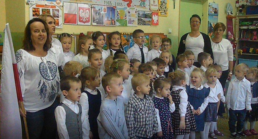 Marsz przedszkolaków dla Niepodległej