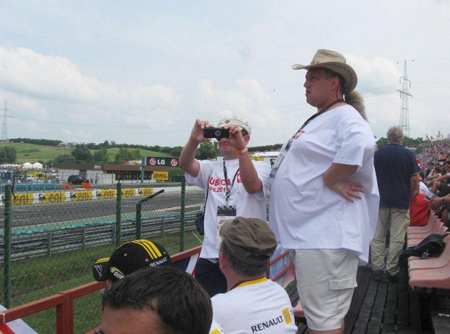 Robert Kubica wrócił na tor. Lokalni kibice znów chcą za nim jeździć