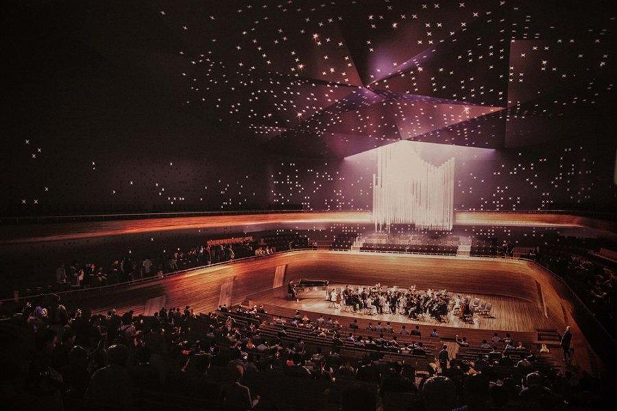 Małopolskie Centrum Muzyki z salą filharmoniczną na 1400 osób