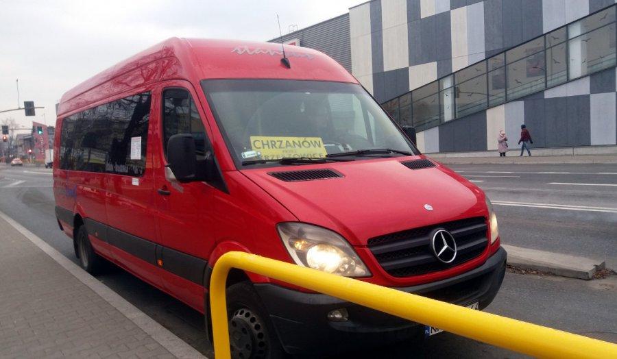 Drożeją przejazdy minibusami