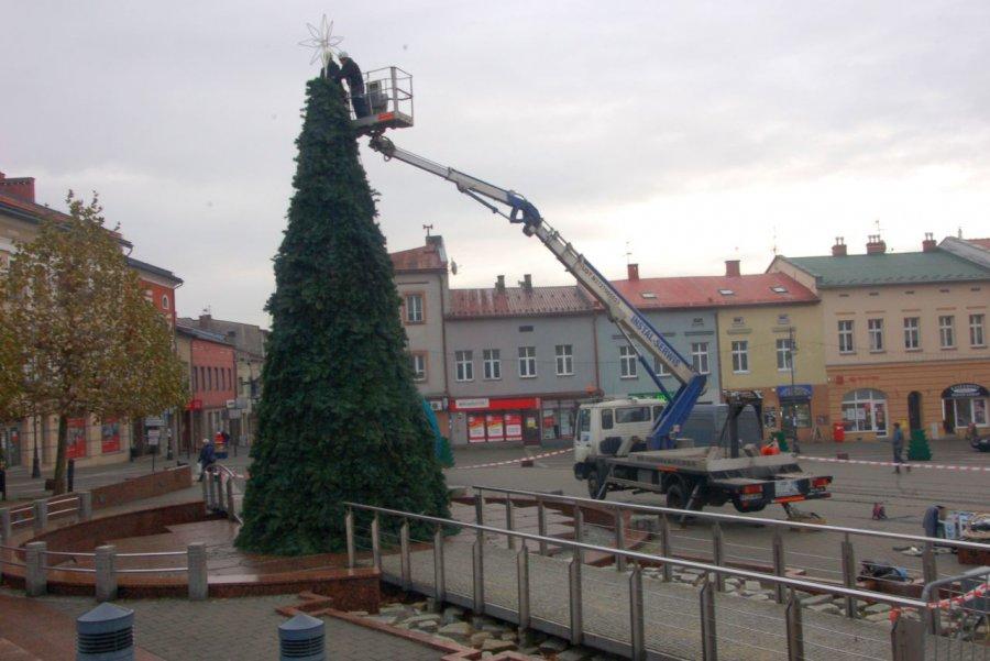 Na Rynku już świątecznie