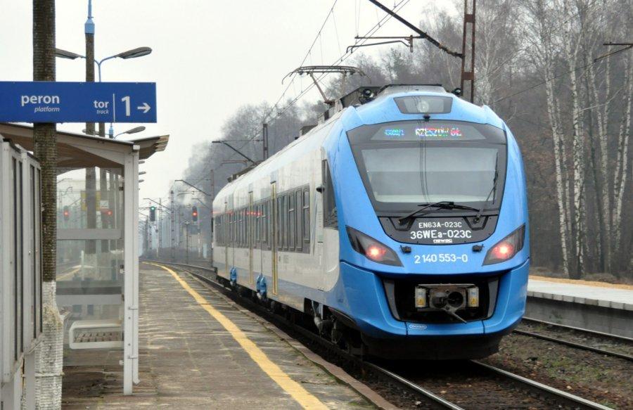 Uwaga - zmienia się rozkład jazdy pociągów