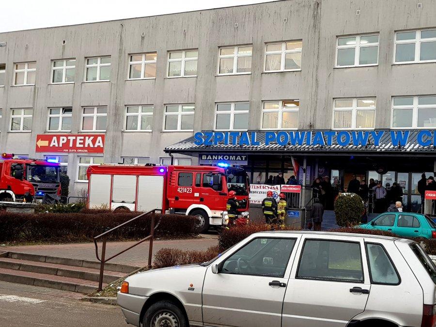 Czy jest bomba w chrzanowskim szpitalu i w sądzie? Wszystkie służby w akcji