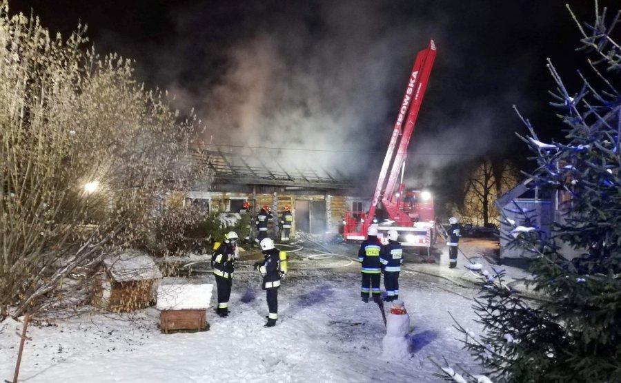 Dom spalił się doszczętnie. Nie udało się uratować zwierząt