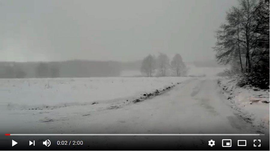 Nasza Syberia w zimie (WIDEO)