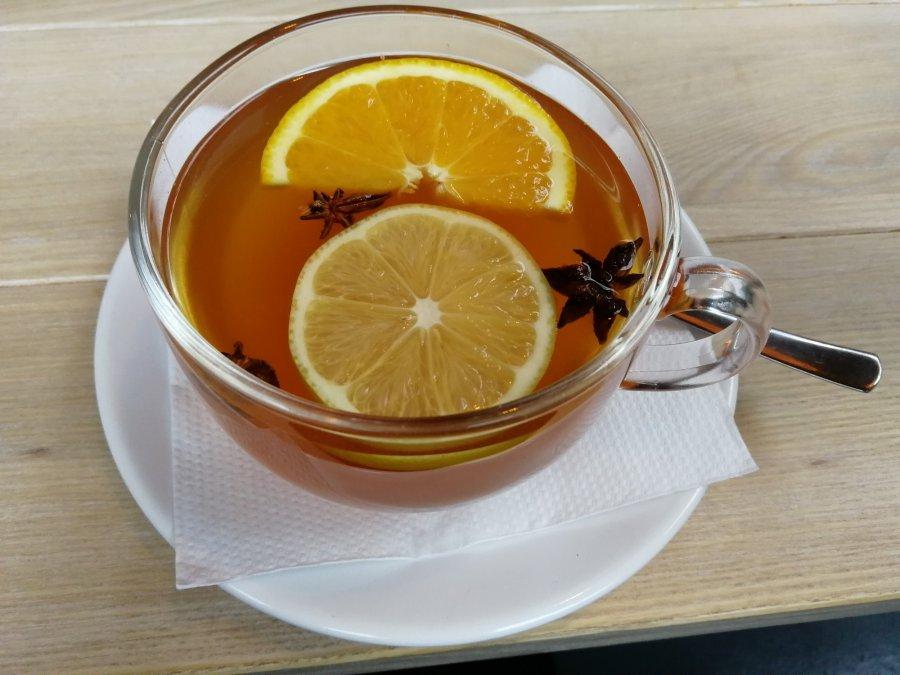 Dobra herbata na zimowy wieczór