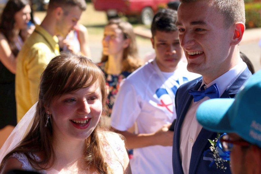 Para z Trzebini pobrała się w Panamie podczas Światowych Dni Młodzieży