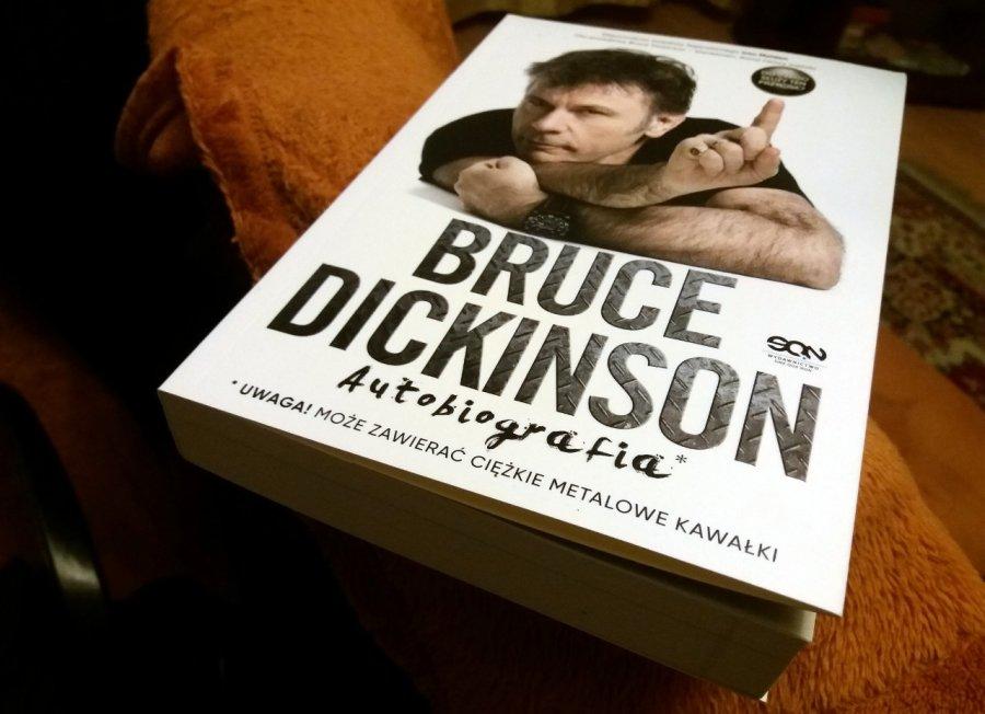 Książka na weekend – autobiografia Bruce'a Dickinsona