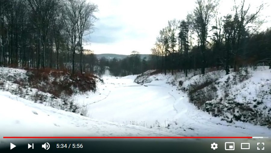 Dolina Pięciu Stawów w Pogorzycach. Wybierz się na zimowy spacer (WIDEO)