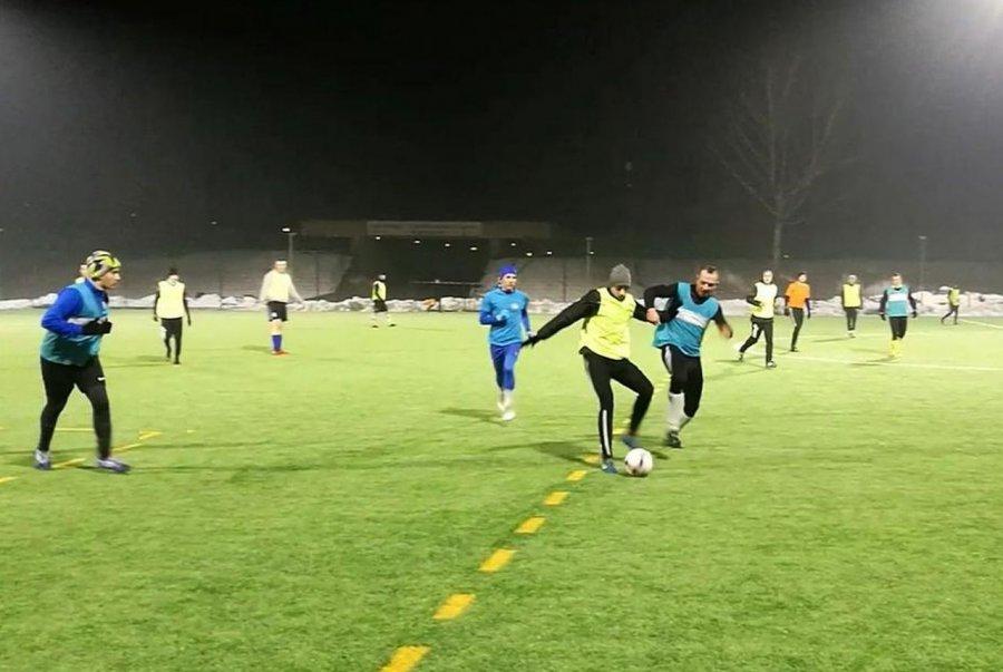 Testowani piłkarze dali wygraną Luszowicom