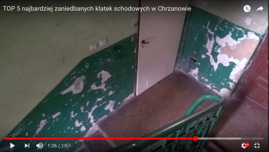 TOP 5 najbardziej zaniedbanych klatek schodowych w Chrzanowie