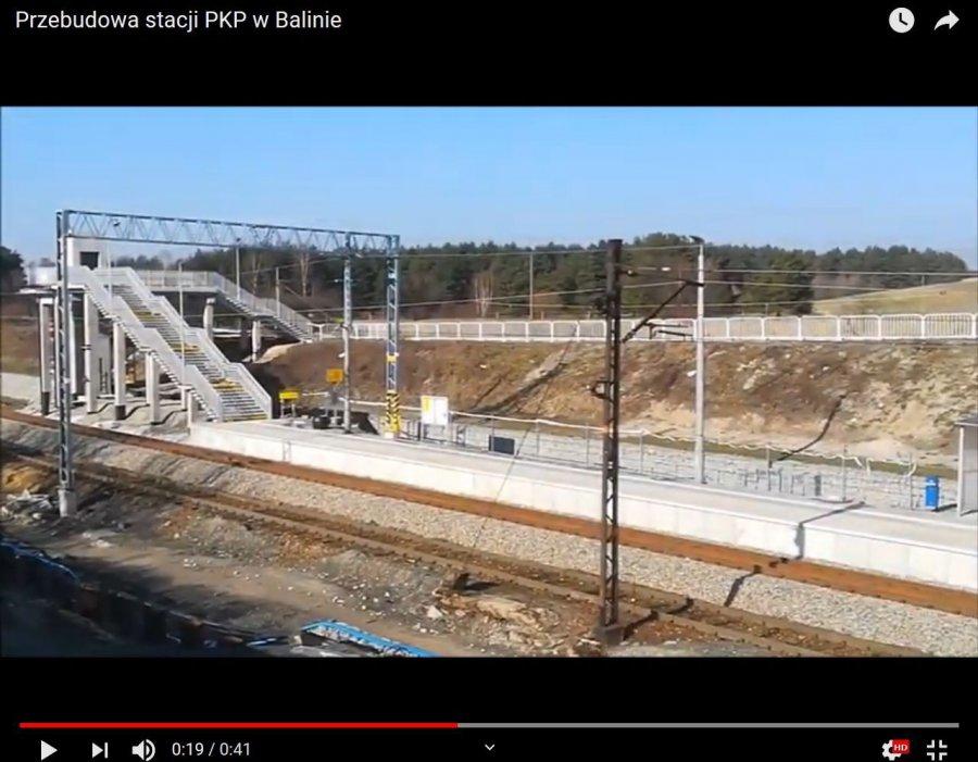 Podróżni korzystają już z nowego peronu (WIDEO)