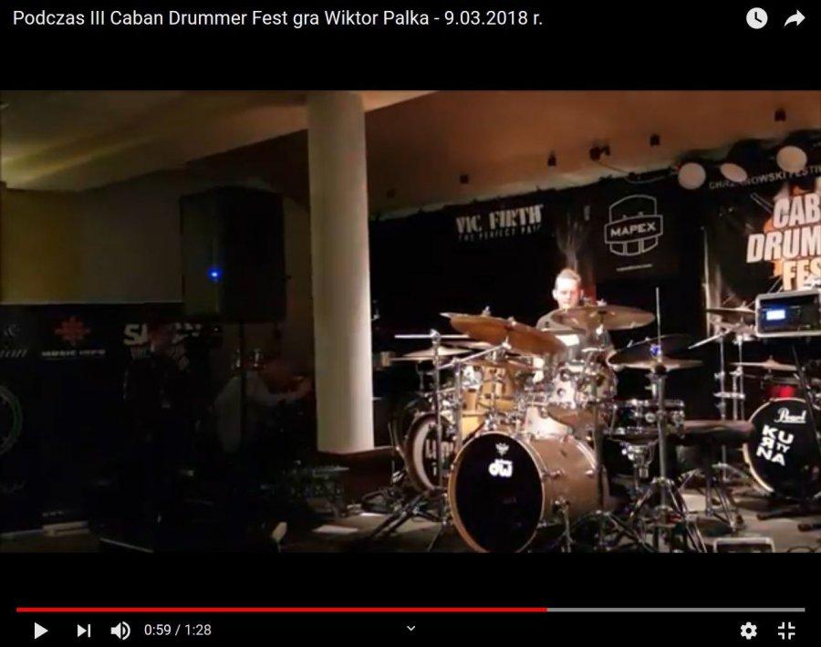 Perkusiści i słuchacze byli w swoim żywiole (WIDEO)