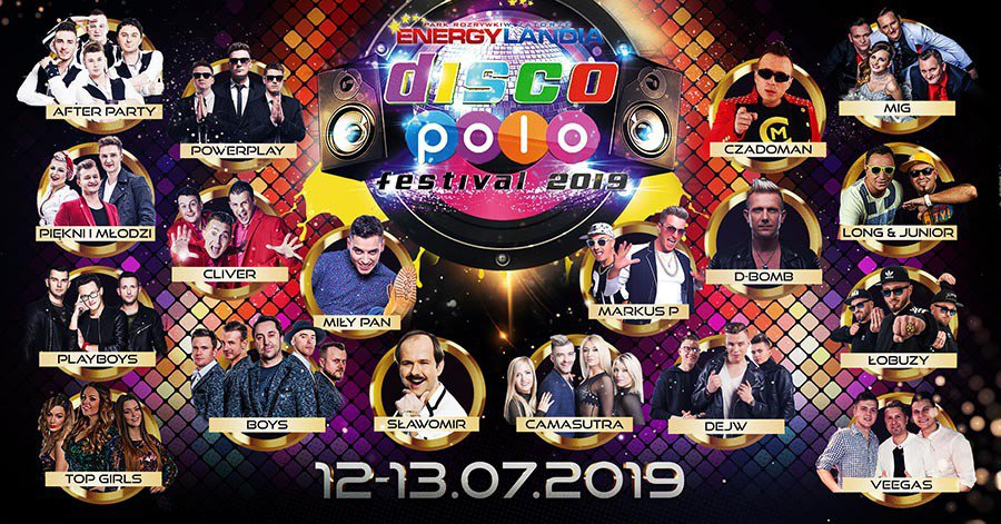 Festiwal disco polo w Energylandii!