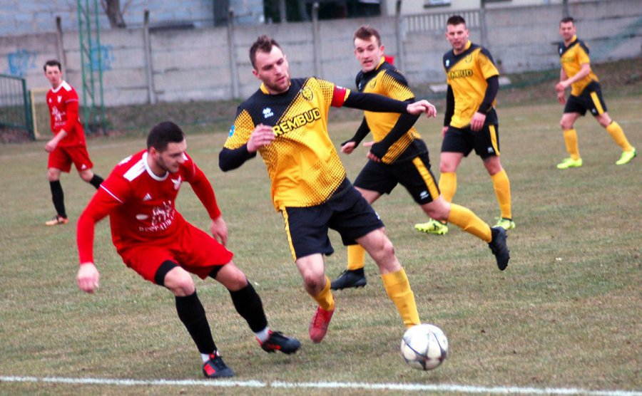 Piłkarze Trzebini szybko pozbawili rywali złudzeń (WIDEO, ZDJĘCIA)