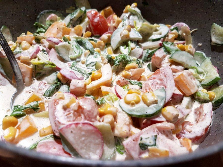 Spróbujcie wiosennej sałatki