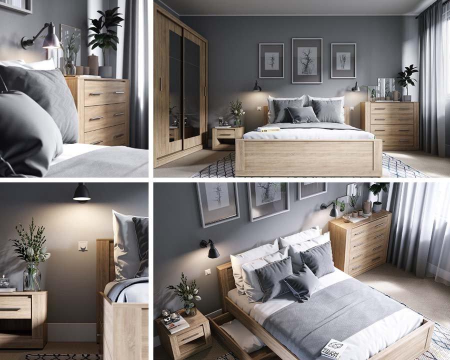 Sypialnia - inspiracje, pomysły, aranżacje