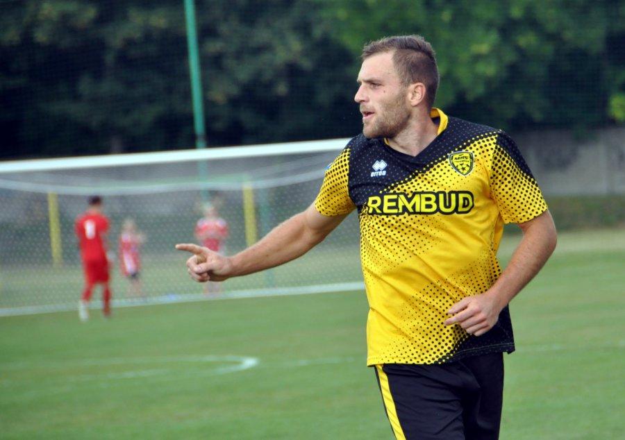 Trzebińscy piłkarze zagrali z Cracovią