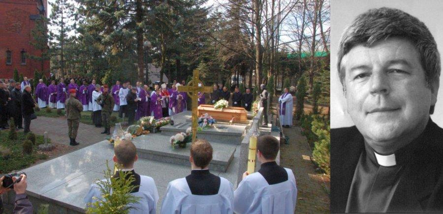 Wojskowa asysta, zagraniczne delegacje. W Trzebini odbył się pogrzeb generała zakonu salwatorianów