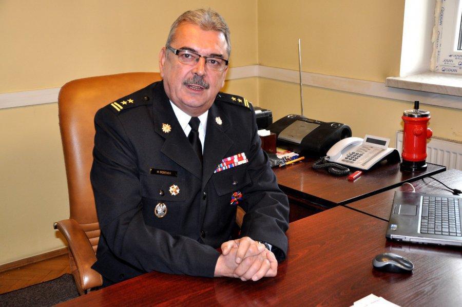 Marek Bębenek szefem małopolskich strażaków