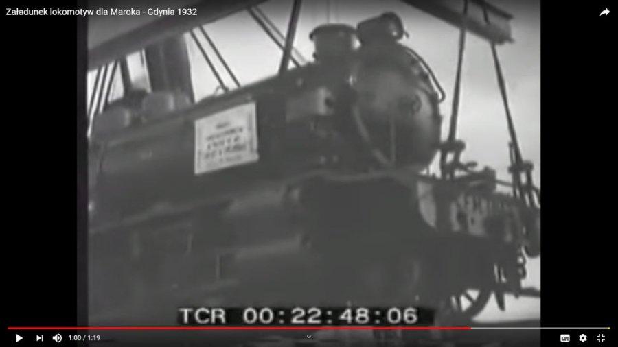 Zobaczcie, jak lokomotywy z Fabloku popłynęły do Maroka (WIDEO)