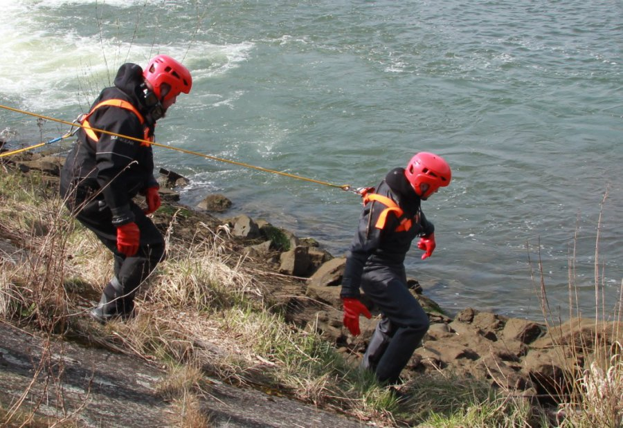 Ratownicy znaleźli plecak i buty zaginionego