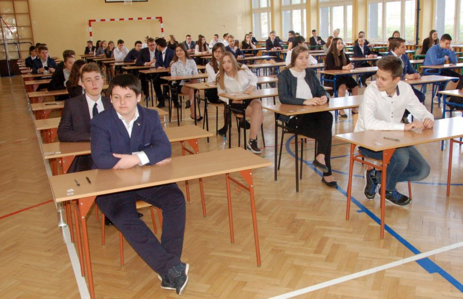 Poniedziałkowy egzamin ósmoklasistów ma się odbyć bez przeszkód