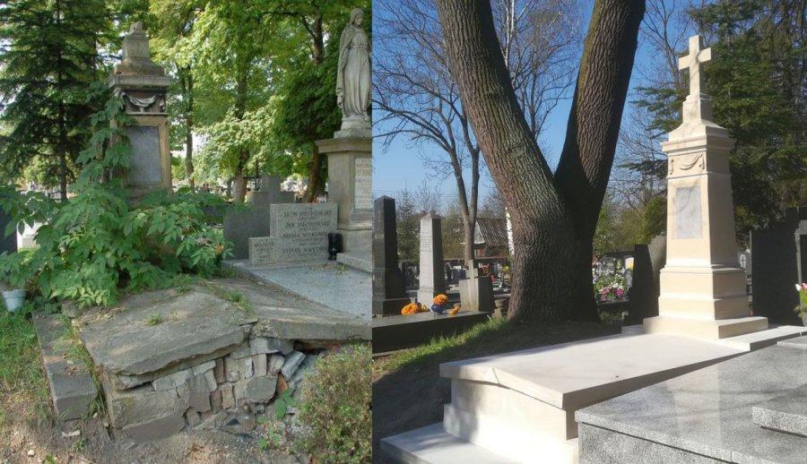 Dzięki waszym datkom ten pomnik został odnowiony