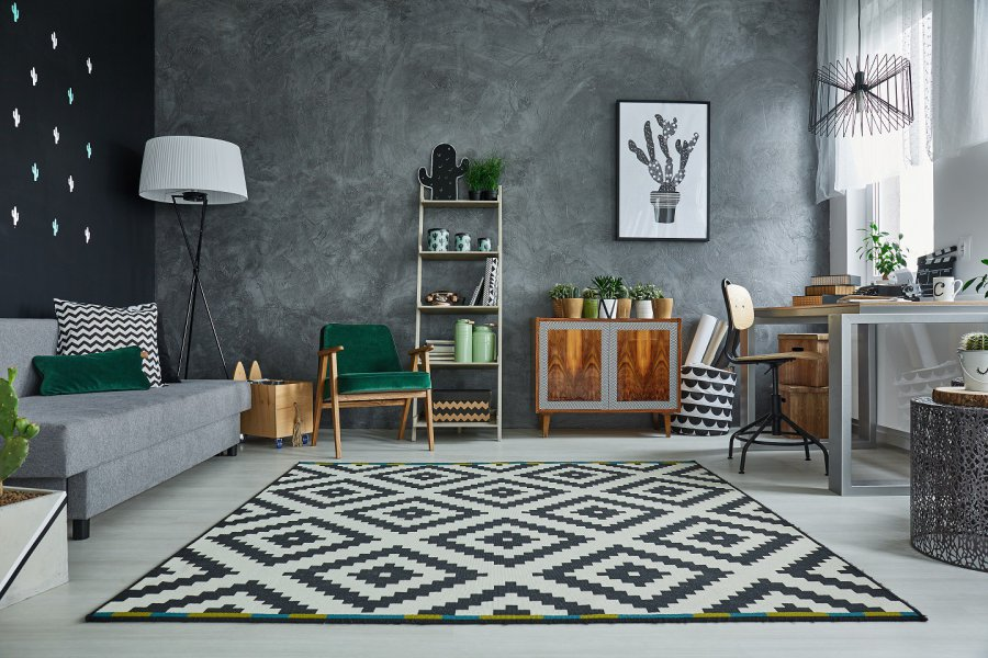 Jak dywan w stylu industrialnym?