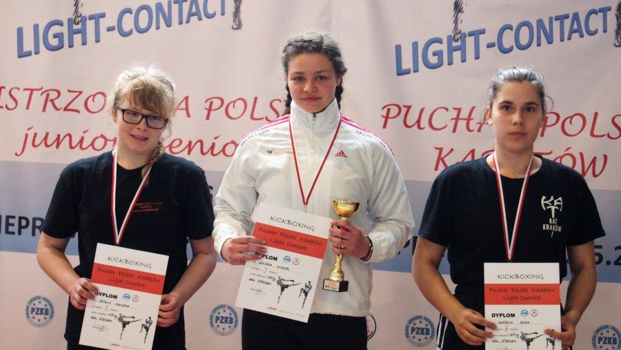 Wiktoria wywalczyła Puchar Polski w Kickboxingu